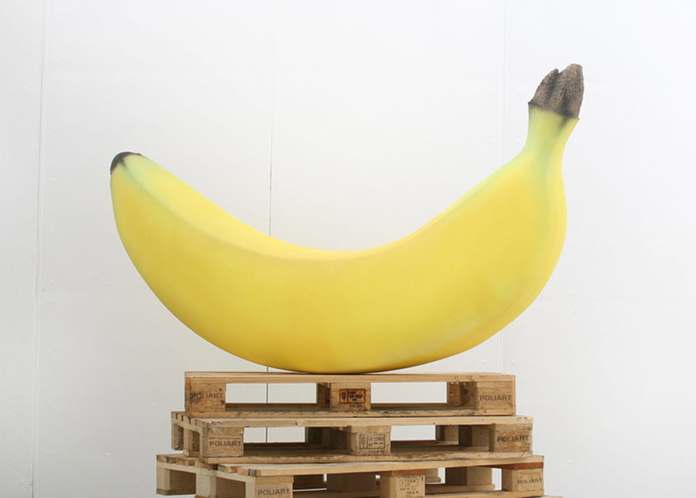 Mockup Banana in Polistirolo by Poliart
