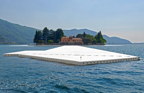 The Floating Piers Christo - Polistirene Espanso Poliart