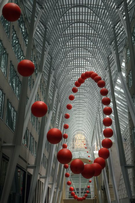 Sfere in Polistirolo by Poliart - Spiral Ball Sculpture Toronto